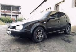 Зеркало заднего вида салонное Volkswagen Golf 4