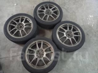 """Комплект дисков Work Emotion CR-KAI R17 с резиной Pirelli 215/45r17. 7.0x17"""" 5x100.00 ET47"""