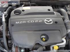 Двигатель Mazda 6 2009 GH, 2.2 л, дизель, мкпп (R2, MZR-CD MP)