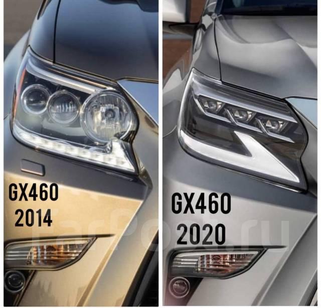 Фары рестайлинг 2020-. г на Lexus GX 460 Отправка