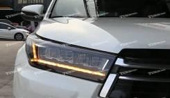 Тюнинговые LED Фары Toyota Highlander 2016-2019