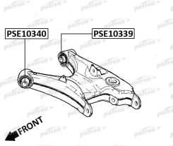 Сайлентблок Рычага Подвески Передний Bmw 5 E39 95-03 PATRON арт. PSE10340