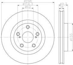 Диск тормозной с покрытием PRO | перед | Textar 92168803