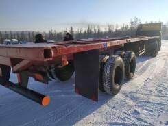 ОдАЗ 9385. Продам полуприцеп контейнеровоз 12 метров!, 32 000кг.