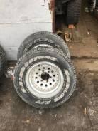 Bridgestone Dueler A/T. всесезонные, б/у, износ 60%