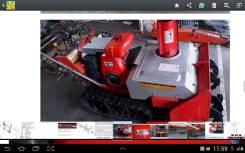 Fuji Heavy. Продается гусеничная снегоуборочная машина, 200куб. см.