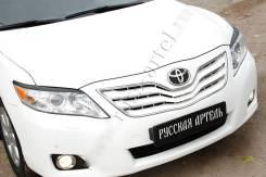 Защита фар прозрачная. Toyota Camry, ACV40, ACV45, AHV40, ASV40, GSV40 2ARFE, 2AZFE, 2AZFXE, 2GRFE
