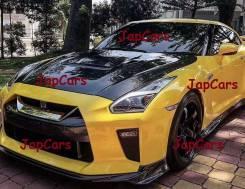 Обвес кузова аэродинамический. Nissan GT-R, R35 VR38DETT