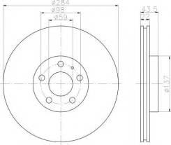 Диск Тормозной Передн. Alfa Romeo 156/164 2.0-3.2 97 PATRON арт. PBD1749