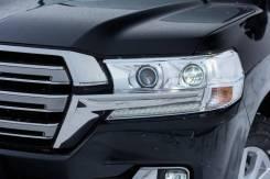 Фары передние белые для Land Cruiser 200 2016+ дизайн Executive