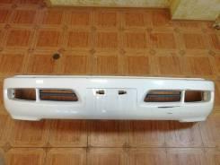 Бампер передний Toyota Land Cruiser Cygnus(J100) 98-02 год белый 6609