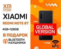 Xiaomi Redmi Note 8T. Новый, 128 Гб, Черный, 3G, 4G LTE, Dual-SIM, NFC. Под заказ