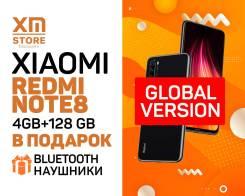 Xiaomi Redmi Note 8. Новый, 128 Гб, Черный, 3G, 4G LTE, Dual-SIM