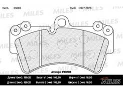 Колодки тормозные (смесь Semi-Metallic) AUDI Q7/VOLKSWAGEN TOUAREG/PORCSHE CAYENNE 02 R18 передние (без датчика) (TRW GDB1548) E100106 miles E100106 в...