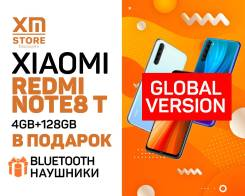 Xiaomi Redmi Note 8T. Новый, 128 Гб, 3G, 4G LTE, Dual-SIM, NFC