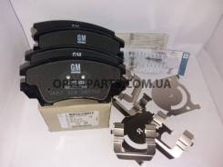 Колодки тормозные дисковые передние CHEVROLET Malibu, OPEL Astra J, Insignia, Zafira C, SAAB 9-5 GENERAL MOTORS [13237751]