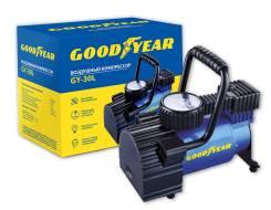 Компрессор Goodyear GY-30L 30 л/мин со сьемной ручкой, сумка для хранения GY000101