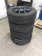 """Комплект зимних колес Bridgestone DM-V2 225/60 R17 на литых дисках. 6.5x17"""" 5x114.30 ET35 ЦО 67,1мм."""