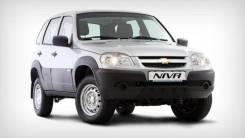 Бампера на Chevrolet NIVA не крашенные и в цвет