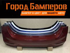 Новый задний бампер в цвет Hyundai Solaris 2 (Солярис) 17-20 Россия