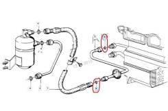 Кольцо трубки кондиционера. BMW: X1, Z3, 8-Series, 5-Series, 3-Series, 6-Series, 7-Series, Z8, X3, X5 N20B20, N47D20, M47D20, M47TU2D20, M51D25, M51D2...