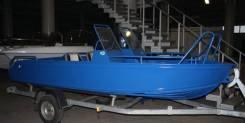 Аллюр. 2011 год, длина 4,50м., двигатель подвесной, 50,00л.с., бензин