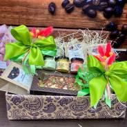 Подарки на День Учителя Воспитателя Чай Кофе мед Бельгийский шоколад