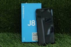 Samsung Galaxy J8. Б/у, 32 Гб, Черный, 3G, 4G LTE, Dual-SIM