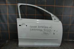 Дверь передняя правая для Skoda Rapid