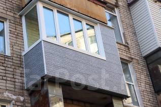 """Изготовление, монтаж и отделка балконов """"под ключ"""""""
