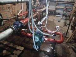 Монтаж узлов учёта тепловой энергии, систем САРТ, труб отопления