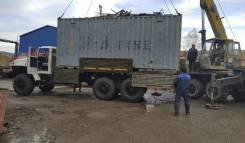 Урал 4320. Бортовой борт металл контейнеровоз длинобаз БМКД, 6x6
