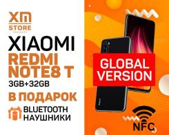 Xiaomi Redmi Note 8T. Новый, 32 Гб, Черный, 3G, 4G LTE, Dual-SIM, NFC. Под заказ