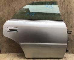 Дверь задняя правая цвет 1С0 Toyota Chaser Tourer-S JZX100 1JZ GE