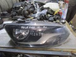 Фара правая VW Polo (HB) 2009>; Polo (Sed RUS) 2011> (После 2015)
