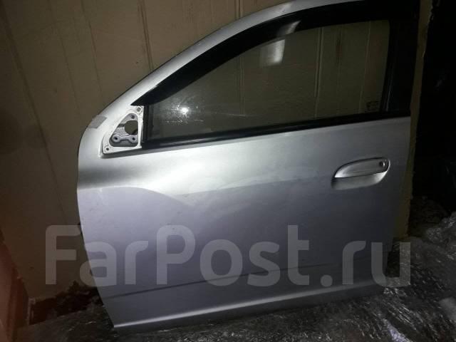 Дверь передняя левая серебристая с дефектом (голая) Cobalt Кобальт
