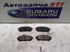 Колодки тормозные. Subaru Impreza WRX, GD9, GDG, GGG Subaru Forester, SG5, SG9, SG9L Subaru Impreza, GD9, GDA, GDC, GDD, GDE, GG2, GG3, GG9, GGA, GGC...