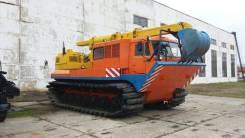 ТТМ-6901 Антей. Продаем гусеничный вездеход с экскаваторной установкой ТТМ 6901Э, 0,50куб. м.