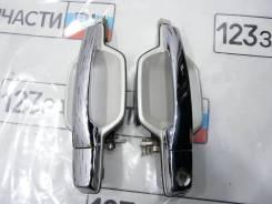Ручка двери передней правой наружная Mitsubishi Pajero V97W 2007 г.