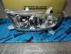 Фара левая Toyota Highlander 2