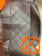 Чехлы из экокожи Toyota Fielder 2012-2019 160 161 165 164 черный ромб