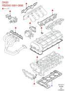 Прокладок ДВС верхний! Ford Galaxy/Scorpio 2.3 97 Victor Reinz 023123501