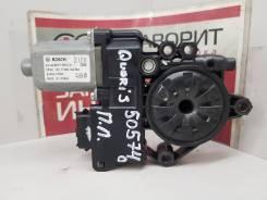 Моторчик стеклоподъемника передний левый [824503T000] для Kia Quoris