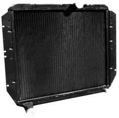 Радиатор охлаждения двигателя. ЗИЛ 433360