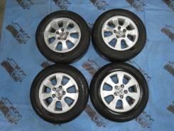 Оригиналы Toyota R15 5*114.3 + лето Bridgestone 205/65/15