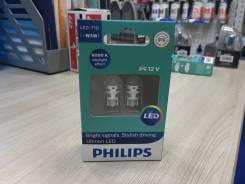 Philips Лампа светодиодная Ultinon LED-HL White T10 6000К 12V W5W X2 11961ULWX2