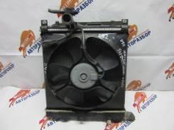 Вентилятор охлаждения радиатора. Mazda Carol, HB24S Mazda AZ-Wagon, MJ21S, MJ22S, MJ23S K6A