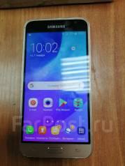 Samsung Galaxy J3 2017. Б/у, 16 Гб, Серебристый, 3G, 4G LTE