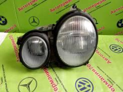 Фара левая (галоген) Mercedes W210 рестайлинг