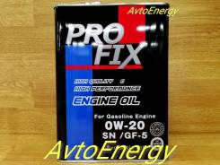 Pro Fix. 0W-20, синтетическое, 4,00л.